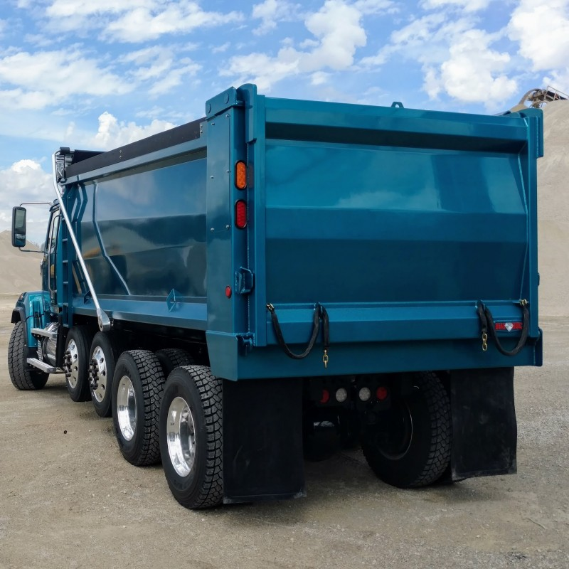 Hardox Steel Beauroc  Dump Truck