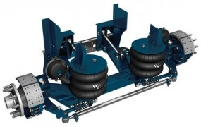 20,000 lb Steerable Lift Axle